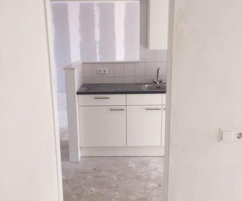 11-03-2018 De Noostraat doorkijk slaapkamer keuken woonkamer WBV