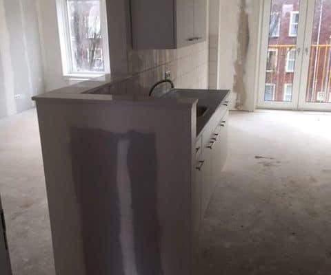 11-03-2018 De Noostraat keuken woonkamer maisonnette WBV